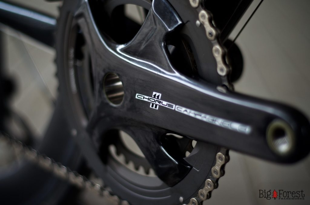 Nica\'s Stahlrahmen Race Bike - Big Forest Frameworks